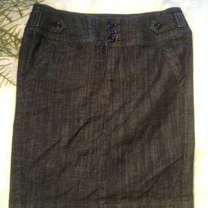 Boom Boom Jean skirt size L
